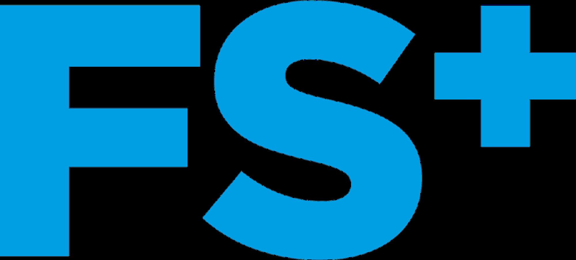 Blauw FS+ logo